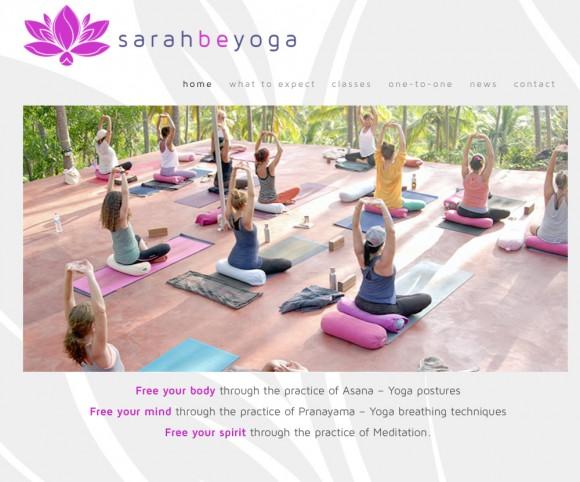 sarahbe yoga
