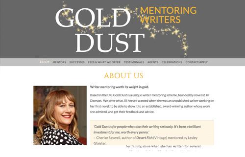 Gold Dust – writer mentoring