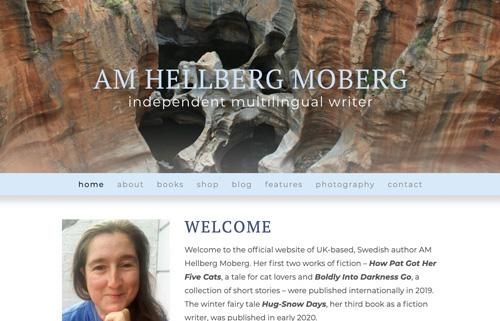 AM Hellberg Moberg – writer