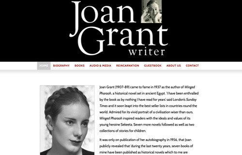 Joan Grant – writer