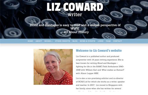 Liz Coward – writer