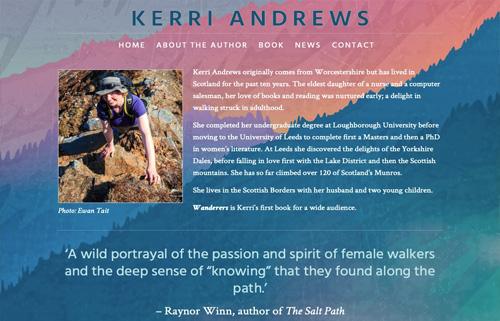 Kerri Andrews – writer