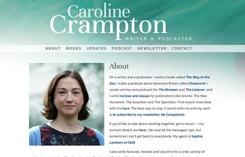 Caroline Crampton – writer & podcaster